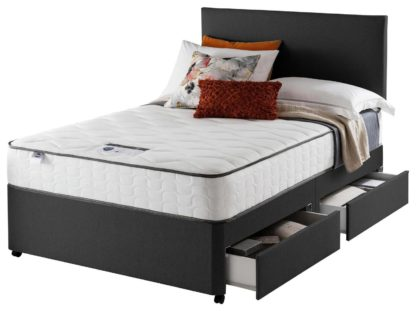 An Image of Silentnight Middleton 800 PKT Comfort 4DRW Ccoal Small DBL