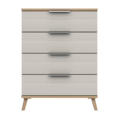 An Image of Murray 4 Drawer Chest Off-White