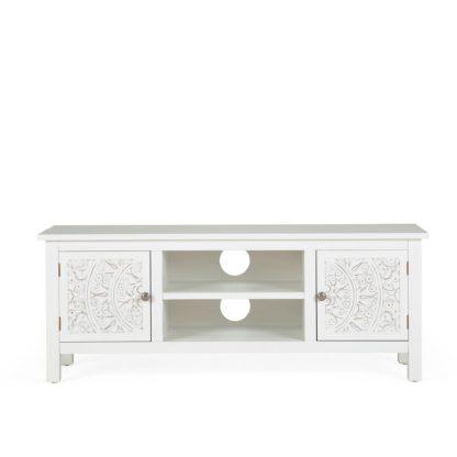 An Image of Samira TV Stand White