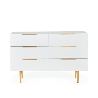 An Image of Maurice Chest of Drawers White