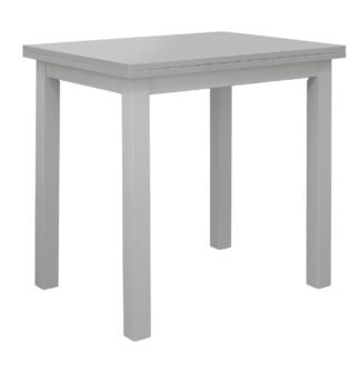 An Image of Habitat Chicago Extending 4 Seater Dining Table - Grey
