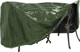 An Image of Argos Home Heavy Duty Round Patio Set Cover
