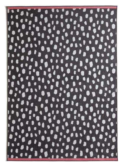 An Image of Habitat Dalmatian Print Rug -120x170cm