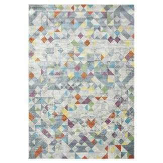 An Image of Asiatic Amelie Modern Geometric Rectangle Rug - 120x170cm