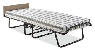 An Image of Jay-Be Supreme Automatic Folding Bed e-Fibre Mattress-Single