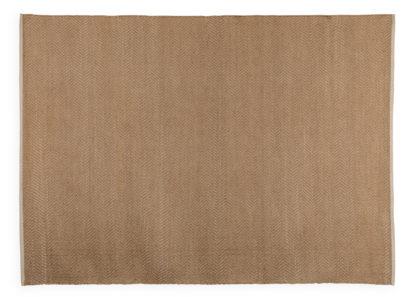 An Image of Linie Design Morini Rug Natural 140cm x 200cm