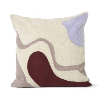 An Image of ferm LIVING Vista Cushion Off White