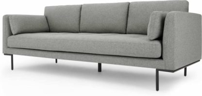 An Image of Harlow 3 Seater Sofa, Mountain Grey