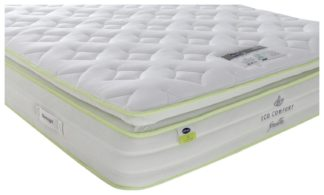 An Image of Eco Comfort Breathe 2000 Pillowtop Double Mattress