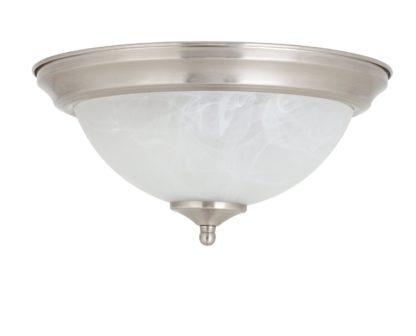 An Image of Argos Home Alabaster Uplighter Flush Ceiling Light
