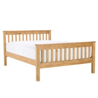 An Image of Somerset Natural Bedstead Natural