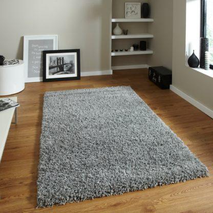 An Image of Grey Vista Rug Grey