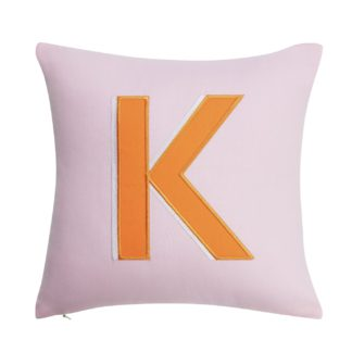 An Image of Argos Home Letter K Cushion