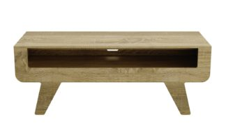 An Image of AVF Up To 60 Inch TV Stand - Washed Oak