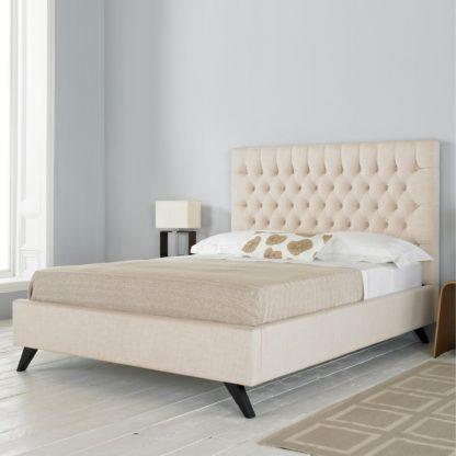 An Image of Sandringham Bed Frame Cream