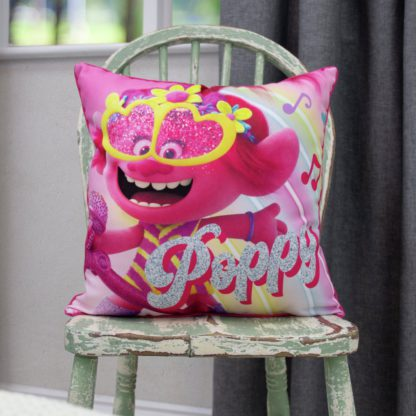 An Image of Trolls Square Cushion