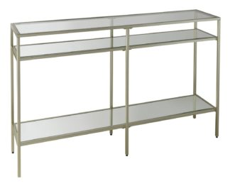 An Image of Glass Sideboard - Champagne