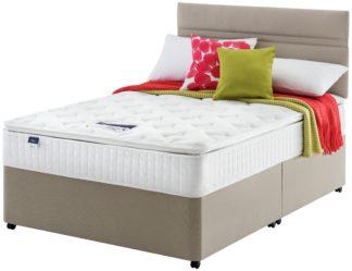 An Image of Silentnight Stanfield Pillowtop Divan - Double