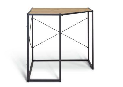 An Image of Habitat Loft Living Corner Office Desk - Light Oak Effect