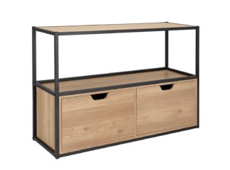 An Image of Habitat Loft Living 2 Drawer TV Unit