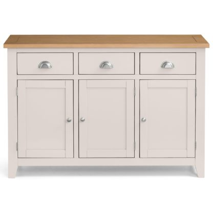 An Image of Richmond Sideboard Grey and Brown