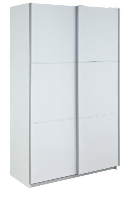 An Image of Habitat Holsted White Extra Large Wardrobe
