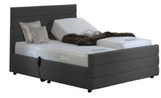 An Image of MiBed Orpington Adjustable Kingsize Bed with Memory Mattess