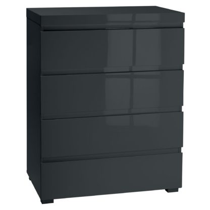 An Image of Puro Grey Chest of Drawers Grey