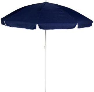 An Image of Argos Home 1.6m Garden Parasol - Blue