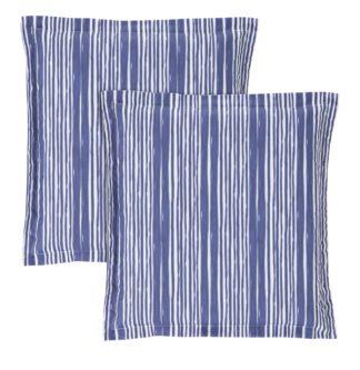 An Image of Argos Home 2 Garden Cushion Pads - Coastal Stripe