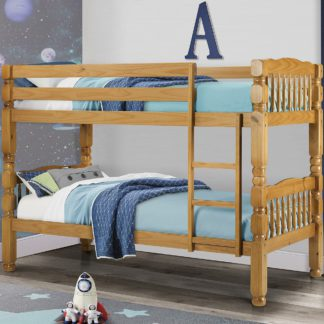 An Image of Chunky Bunk Bed Brown