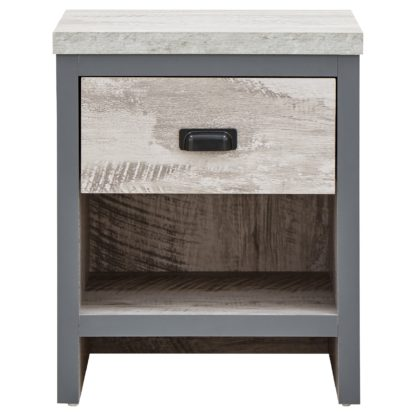 An Image of Boston Lamp Table Grey
