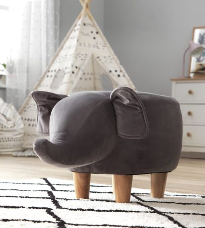 An Image of Argos Home Elton the Elephant Stool