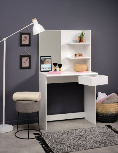 An Image of Parisot Dressing Table - White