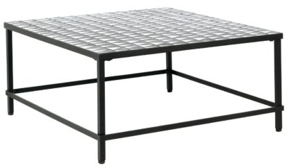 An Image of Habitat Becklen Square Coffee Table - Black