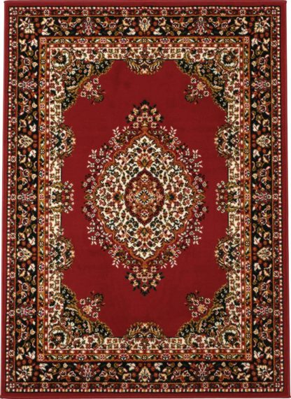 An Image of Homemaker Bukhura Persian Rug - 160x120cm - Red