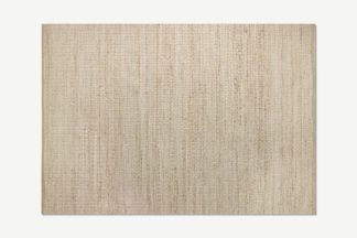 An Image of Enas Jute Rug, Large 160 x 230cm, White