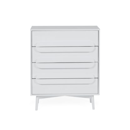 An Image of Anders 4 Drawer Chest White