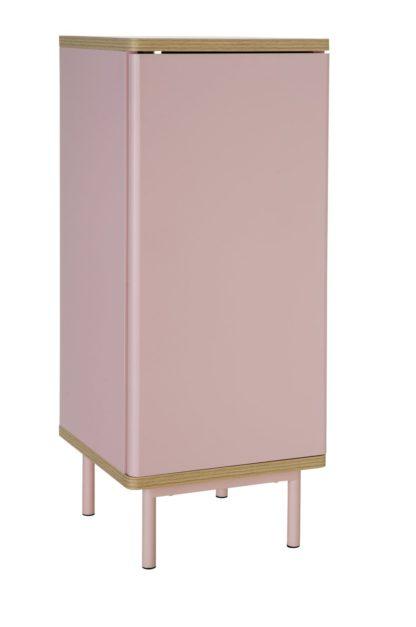 An Image of Habitat Freja 1 Door Cabinet - Pink