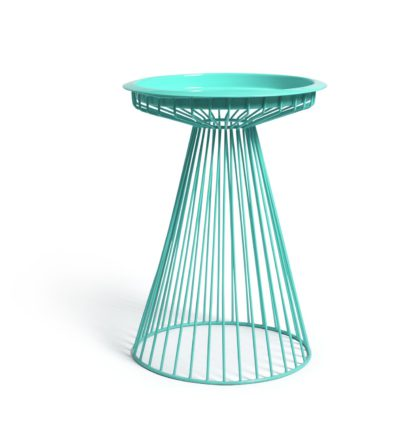 An Image of Argos Home Global Wire Metal Table