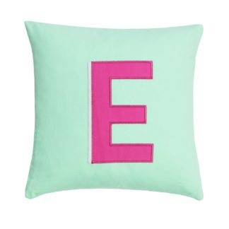An Image of Argos Home Letter E Cushion