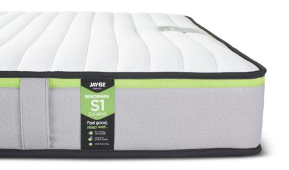 An Image of Jay-Be Benchmark S1 Comfort Eco Friendly Double Mattress