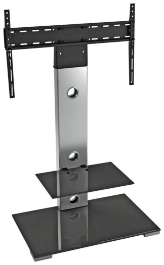 An Image of AVF Up to 65 Inch TV Stand - Silver