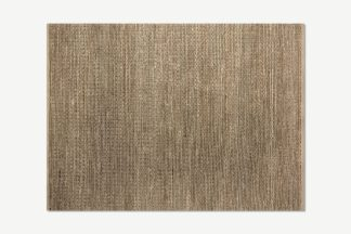 An Image of Enas Jute Rug, Large 160 x 230cm, Black