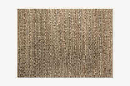 An Image of Enas Jute Rug, Large 160 x 230cm, Black