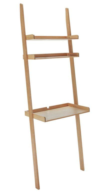 An Image of Habitat Jessie Oak Ladder Desk