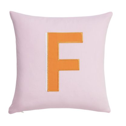 An Image of Argos Home Letter F Cushion