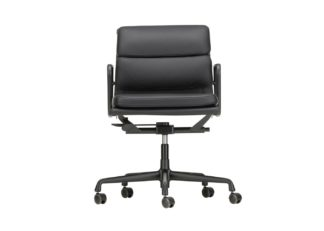 An Image of Vitra Eames EA217 Soft Pad Chair Medium High Backrest