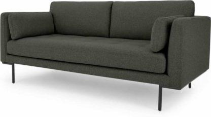 An Image of Harlow Large 2 Seater Sofa, Hudson Grey