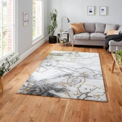 An Image of Craft 23270 Rug Craft 23270 Ivory Gold